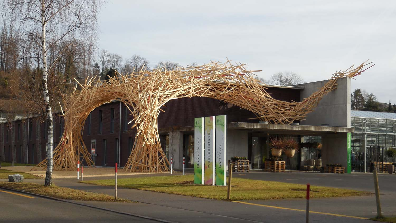 «Torbogen 4» - Installation - Wagerenhof Uster 2013