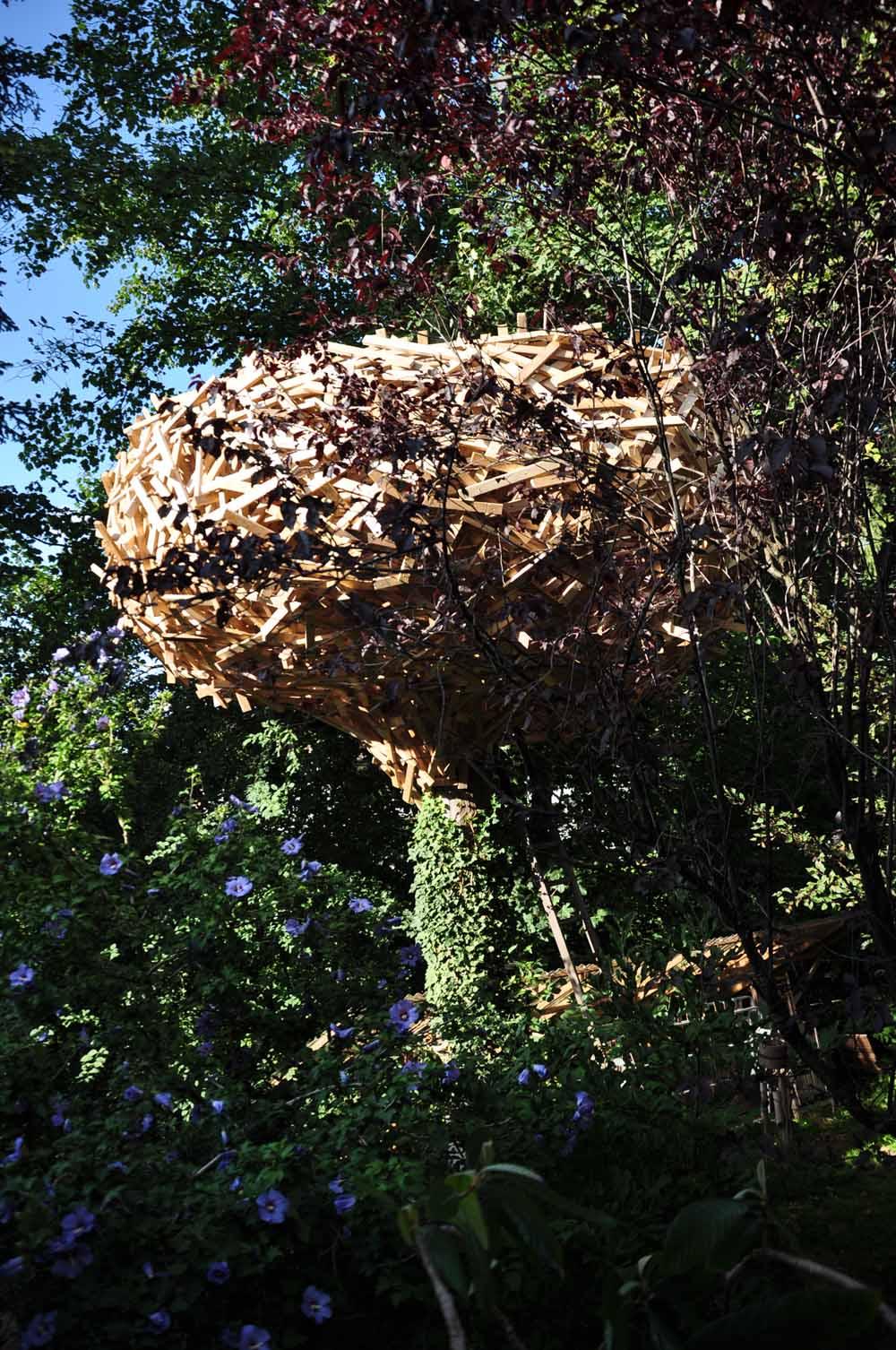 «Nest» - Installation - Mönchaltorf 2017